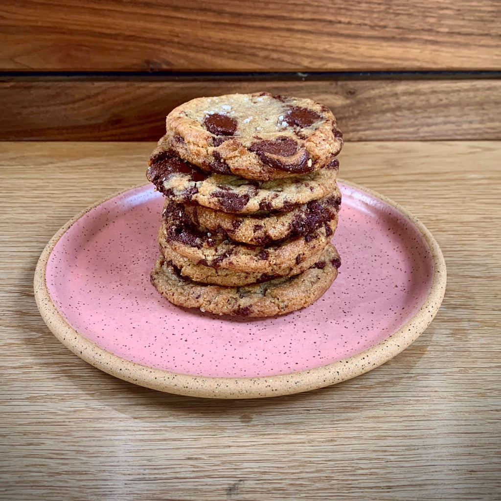 Fresh Baked Hazelnut Chocolate Chip Cookies - Half Dozen