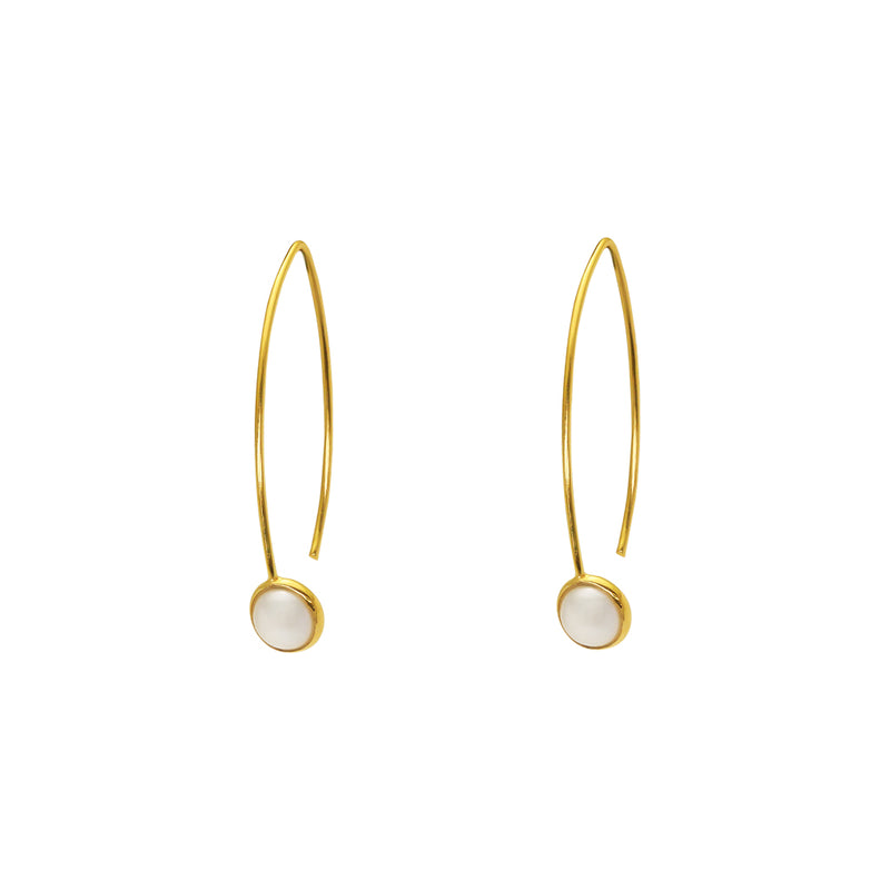 yara freshwater pearl earrings