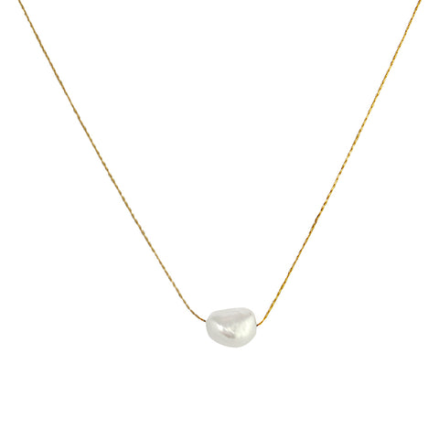 LURICE 1 MICRON GOLD FRESHWATER PEARL PENDANT