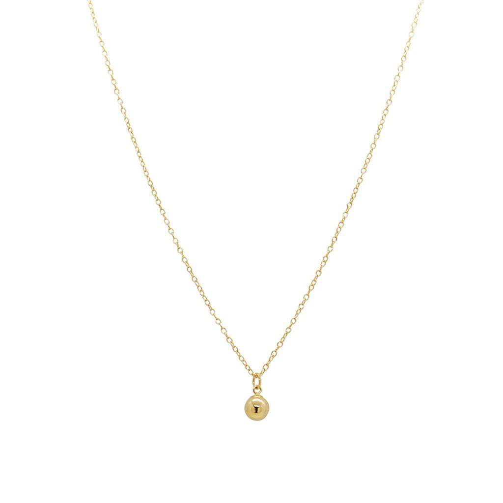 ALIL GOLD FILLED BALL PENDANT