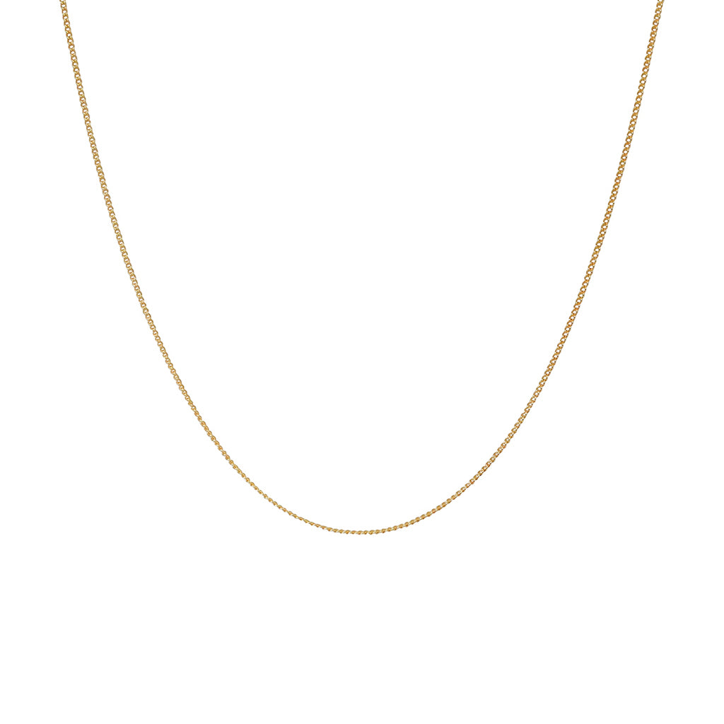 CHAIN 2 MICRON GOLD PLATED 45 CM
