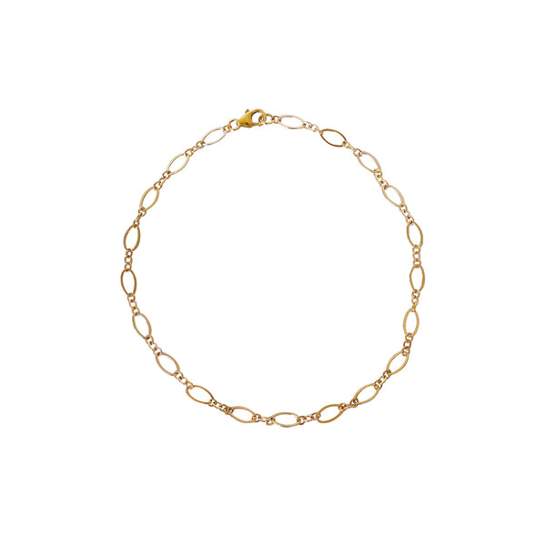 CHARLET GOLD FILLED CHAIN ANKLET
