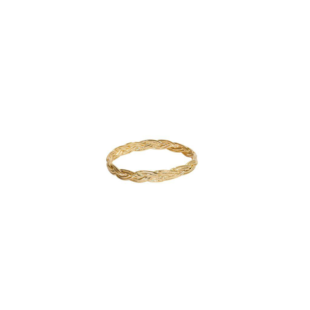 DANA RING 2 MICRON GOLD