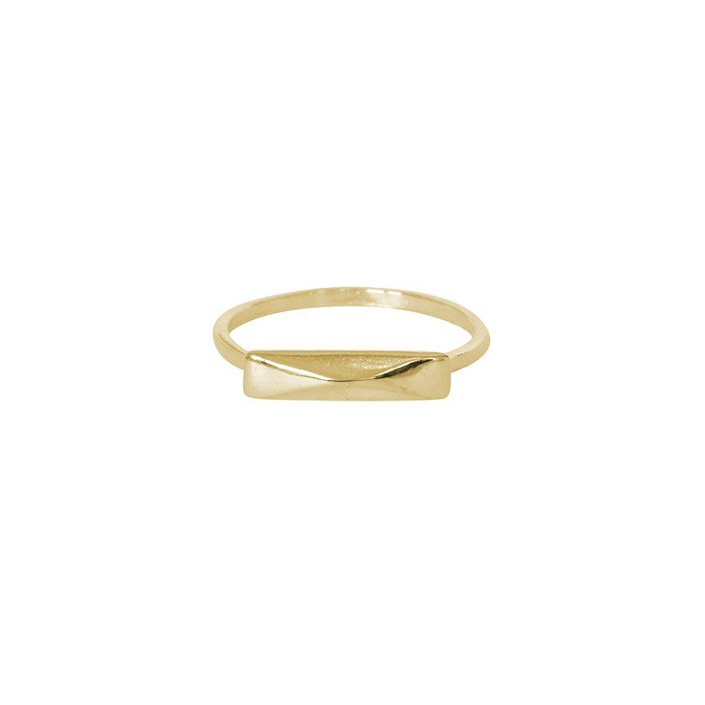 ELAH GOLD FILLED RING