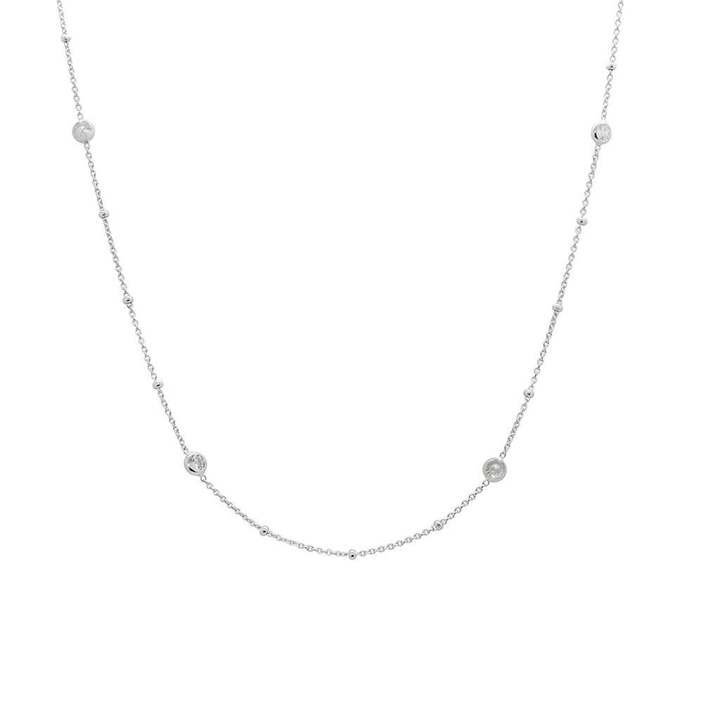 EVA CHARM CRYSTAL CHOKER NECKLACE