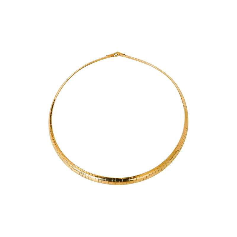 GINA LARGE GOLD NECKLACE