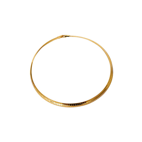 GINA MEDIUM GOLD NECKLACE