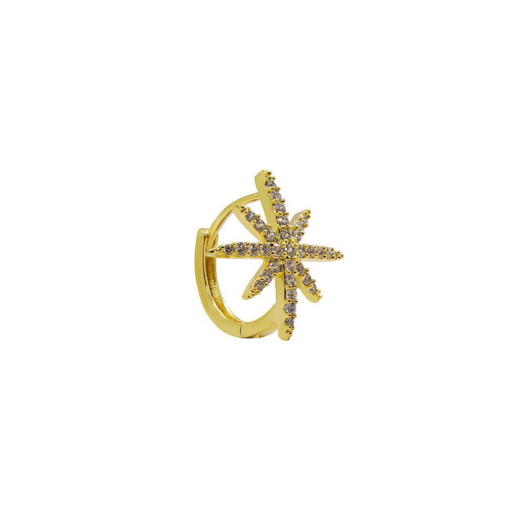 SHAYNA GOLD CONCH EARRING