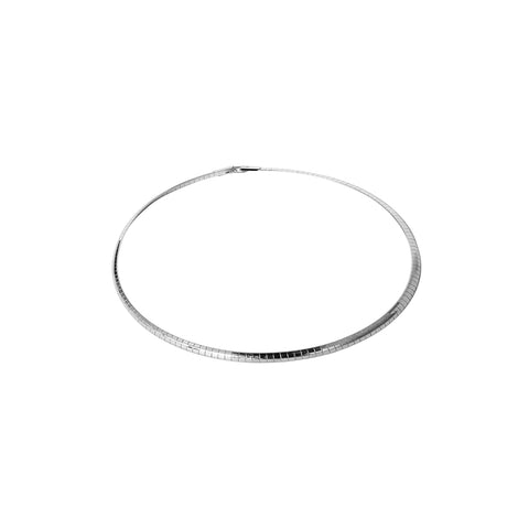 GINA SMALL SILVER NECKLACE