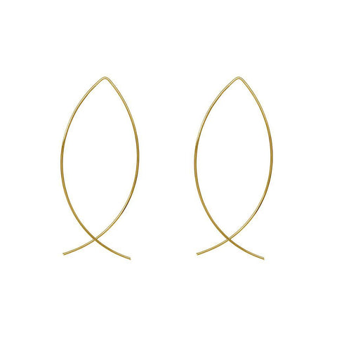 HARMONIE 2MICRON GOLD PLATED EARRINGS