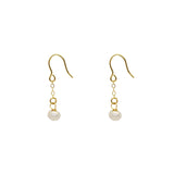Darius freshwater pearl earrings