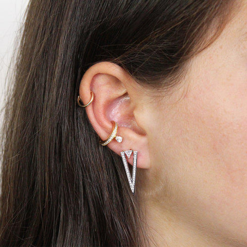 AYLA CRYSTAL EAR CUFF