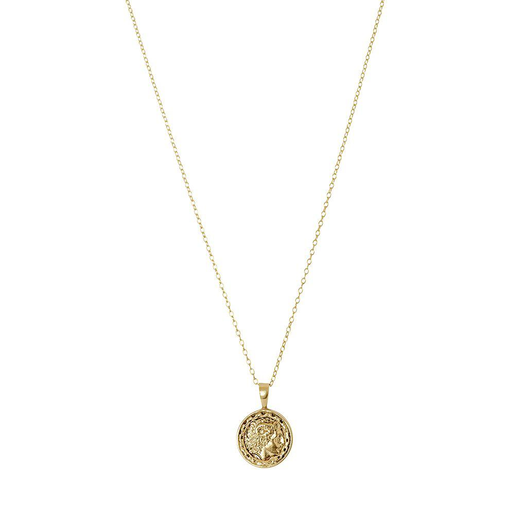 BAYLA GOLD FILLED COIN PENDANT