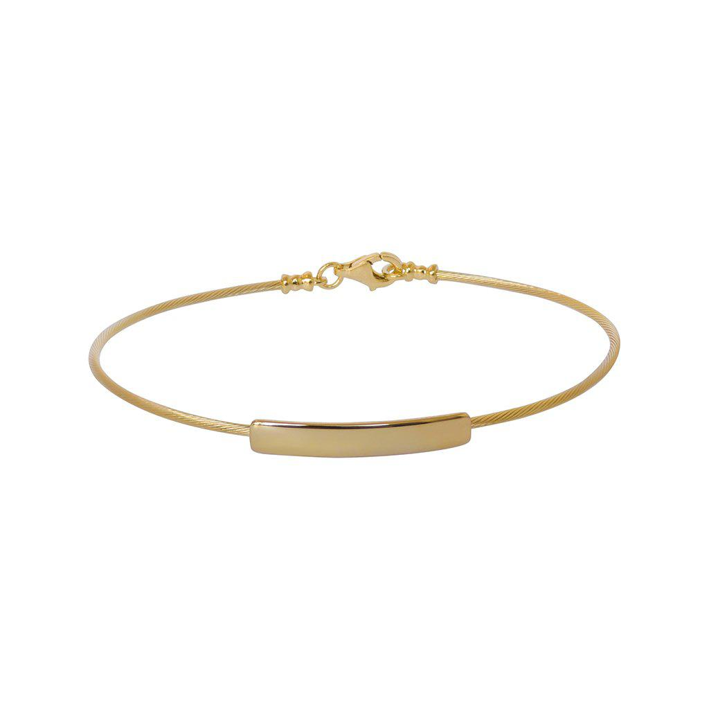 DAFNA GOLD FILLED BRACELET