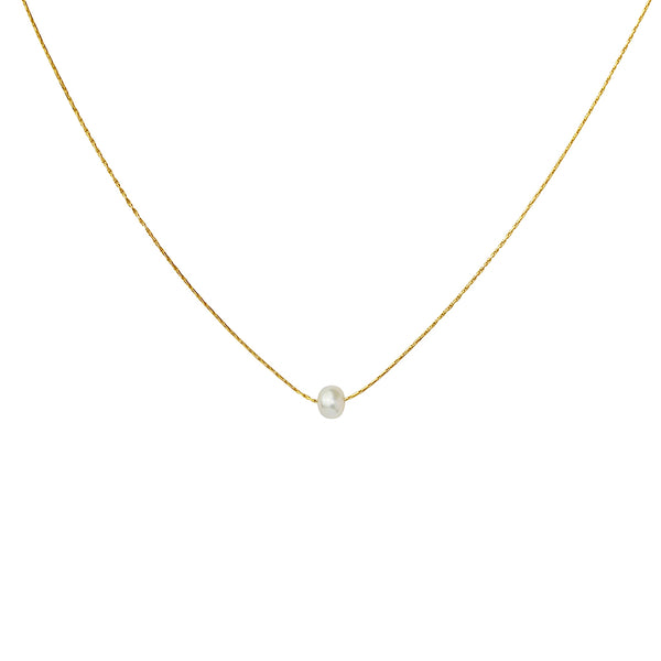lurice freshwater pearl gold pendant