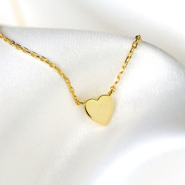 Corazon Gold Heart Necklace