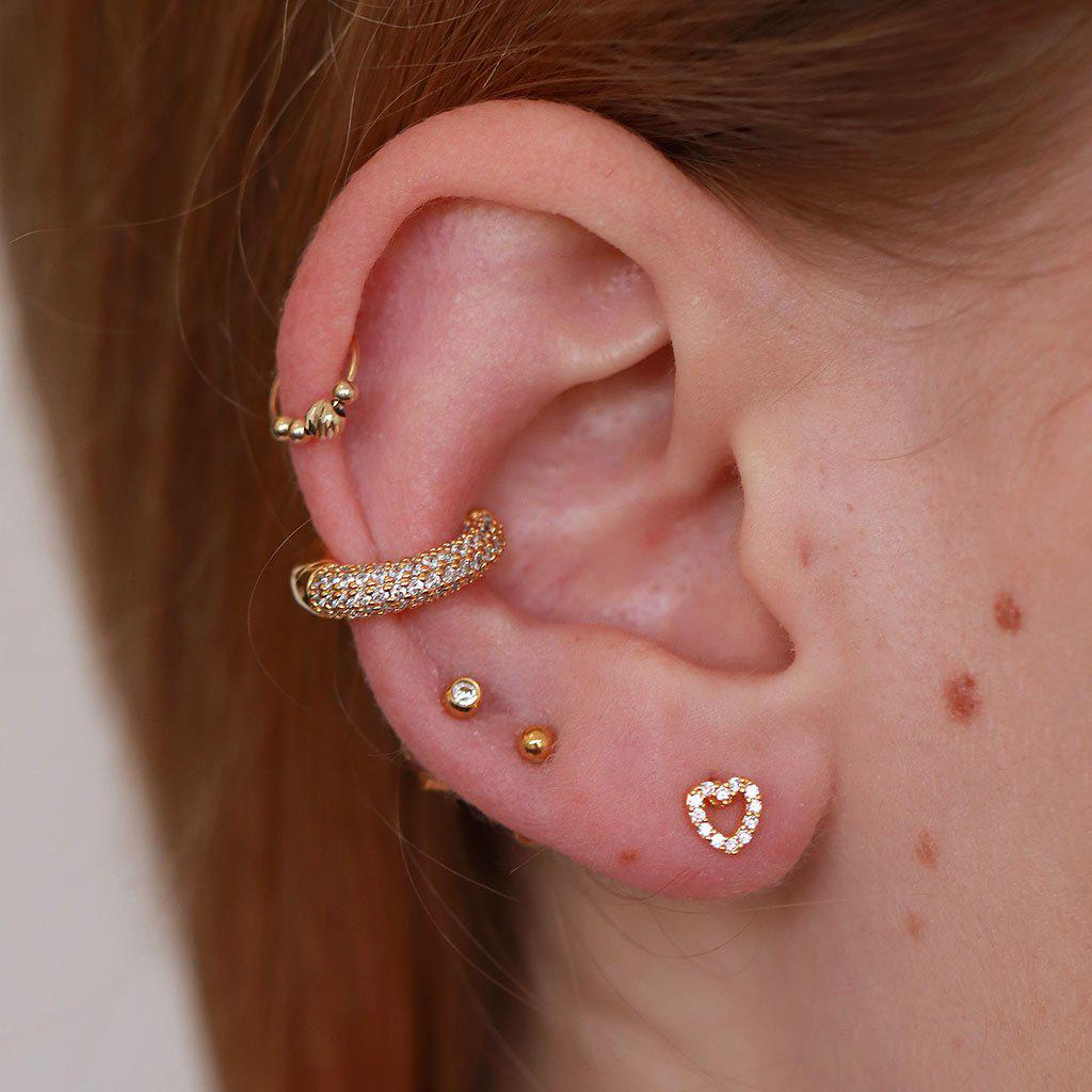 LABRET XX - CRYSTAL HOLLOW HEART