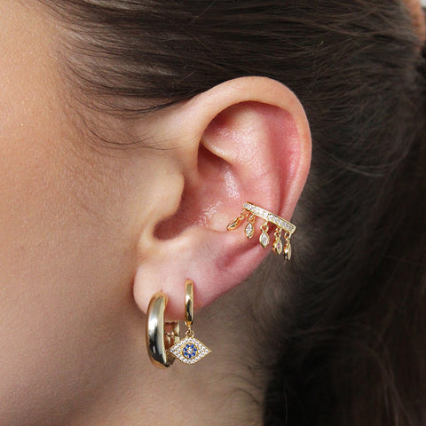 ELLIOTT LARGE GOLD HOOPS