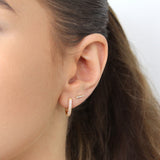 TILLY CRYSTAL BAR STUDS