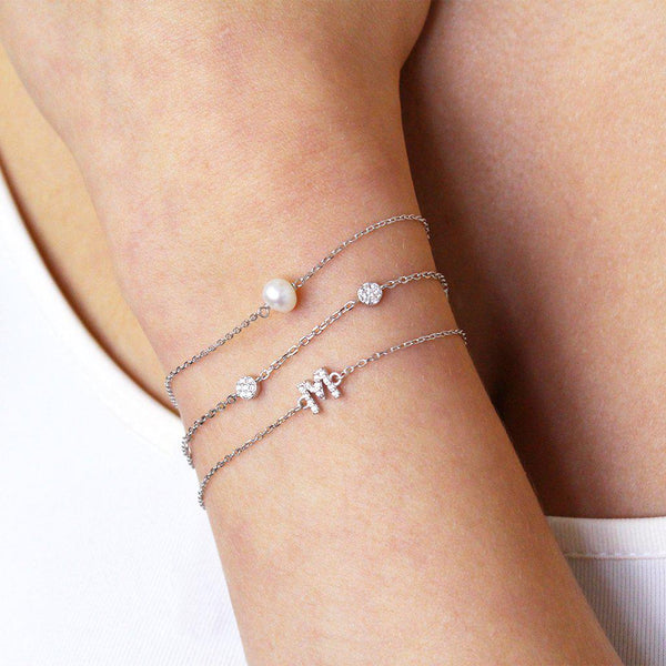 MACON CRYSTAL CIRCLE BRACELET