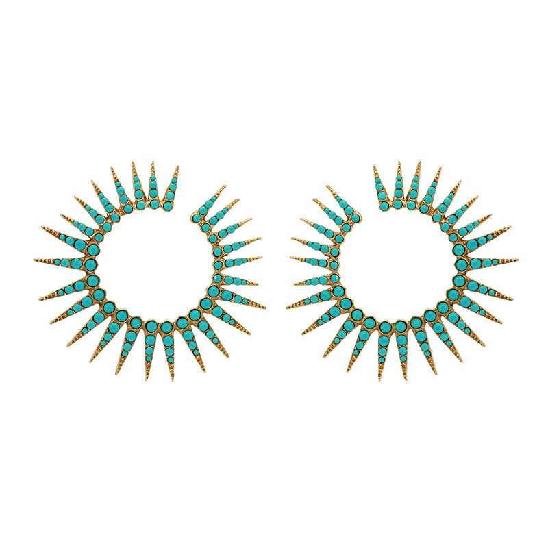 Solange crystal earrings