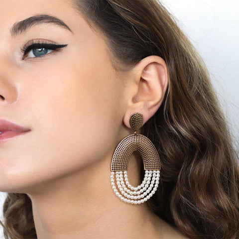VIDIGAL WHITE EARRINGS