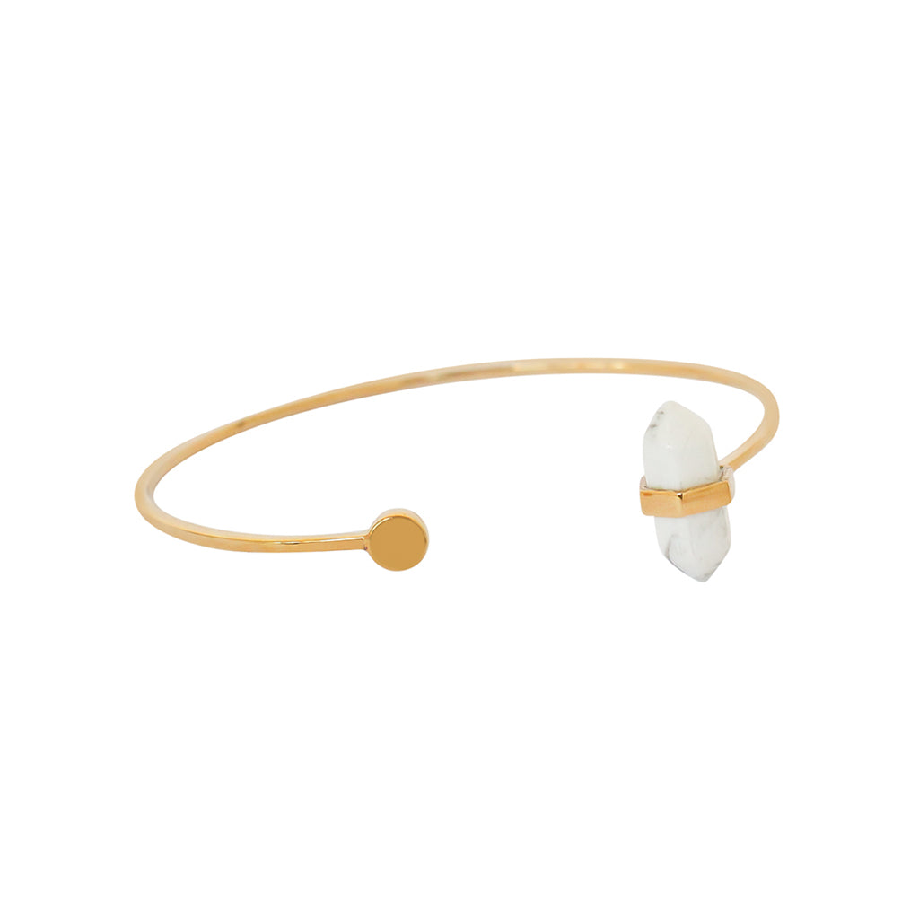 CALICO STERLING SILVER GOLD PLATED BRACELET