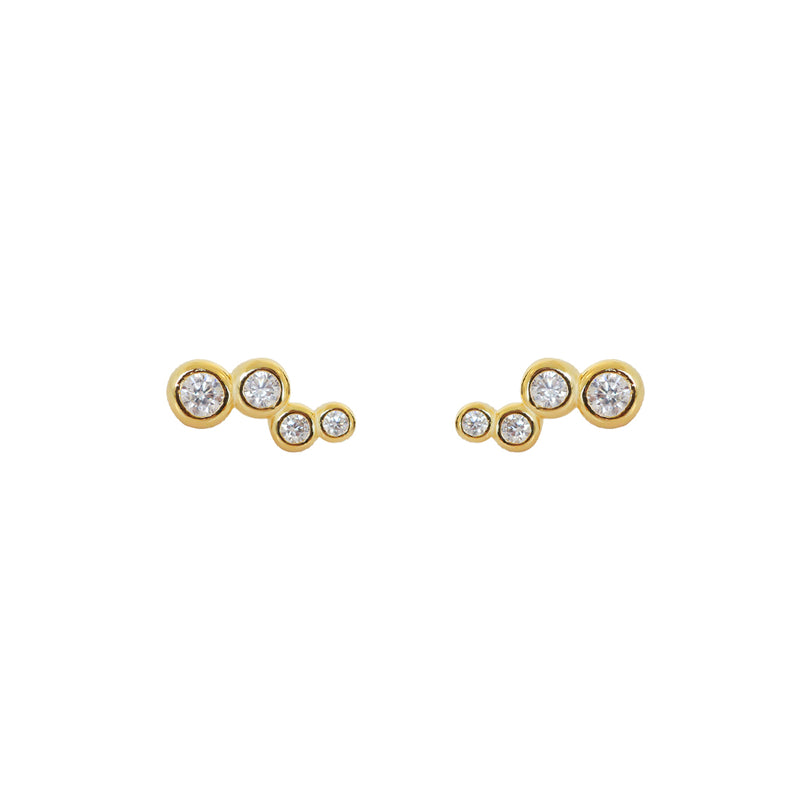 APHRA GOLD STUDS