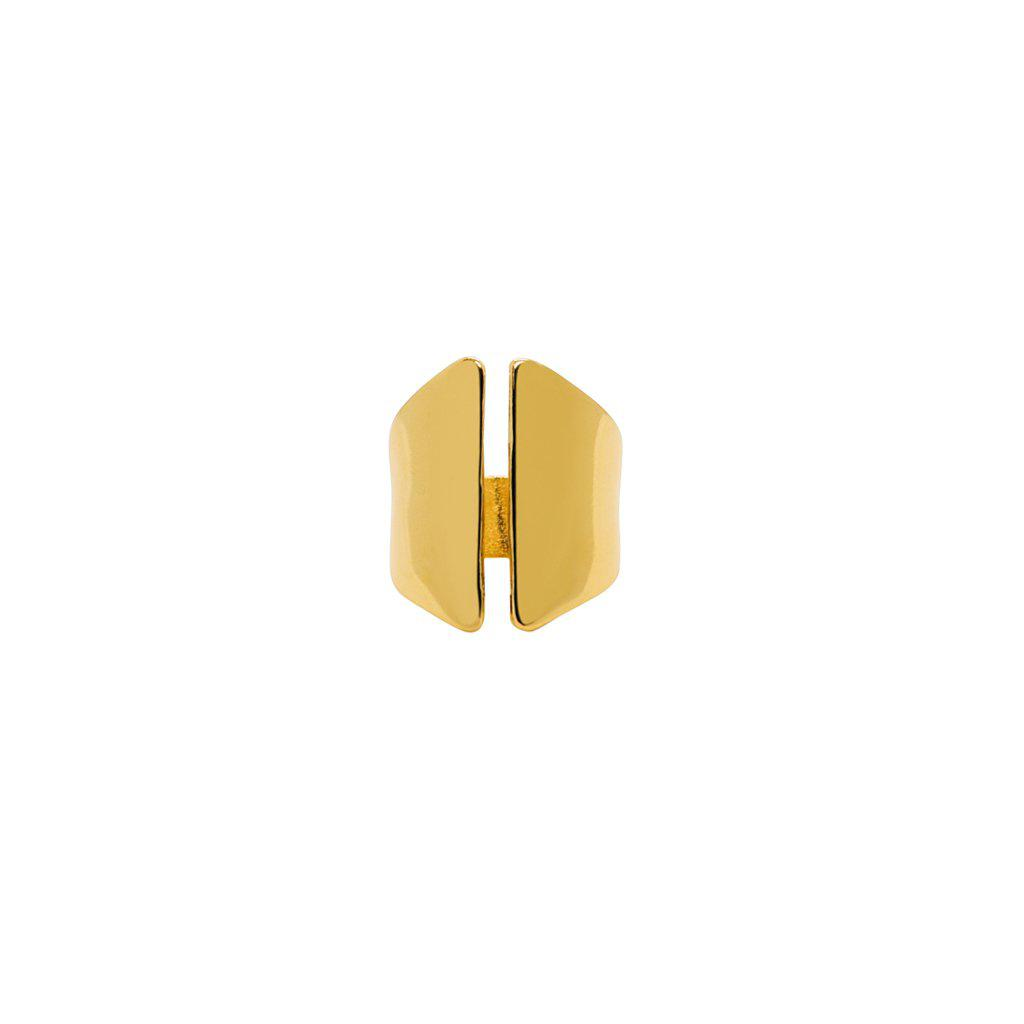 CHANNA RING 2 MICRON GOLD