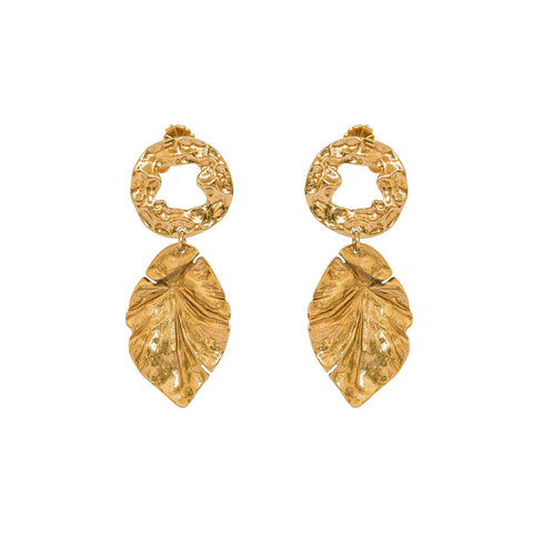 NAYARA ANTIQUE GOLD EARRINGS