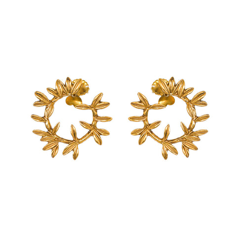 RAISSA ANTIQUE GOLD EARRINGS