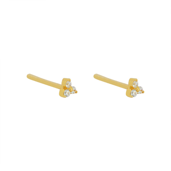 ATLANTA GOLD PLATED STUDS