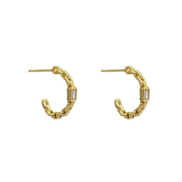 Tess hoop earrings