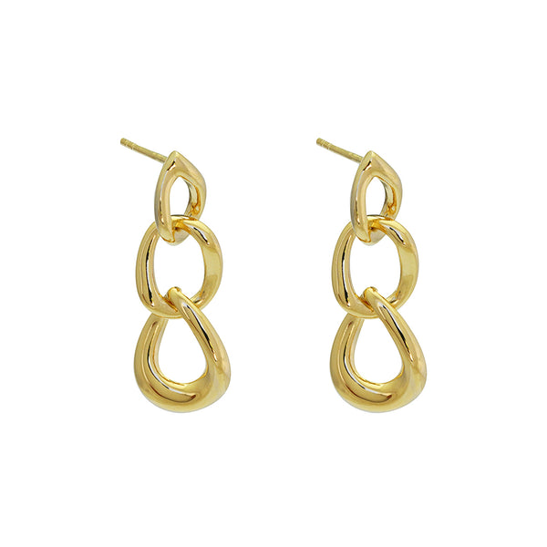 pilar chain earrings