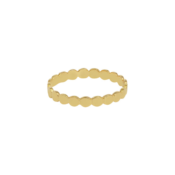 SHANI GOLD FILLED RING