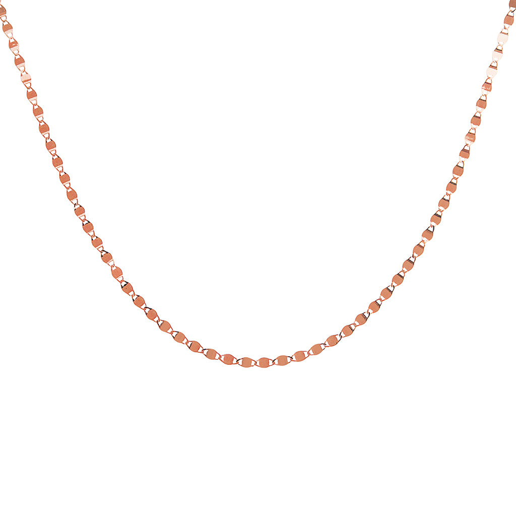 JURNEE ROSE GOLD PLATED NECKLACE