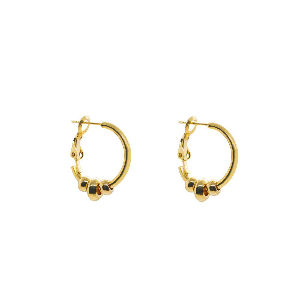LIRAZ GOLD FILLED HOOPS