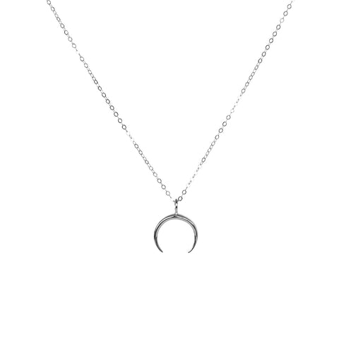 MAYNE CRESCENT STERLING SILVER NECKLACE