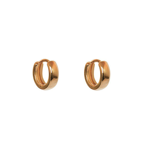 MEI 18K ROSE GOLD PLATED HUGGIES