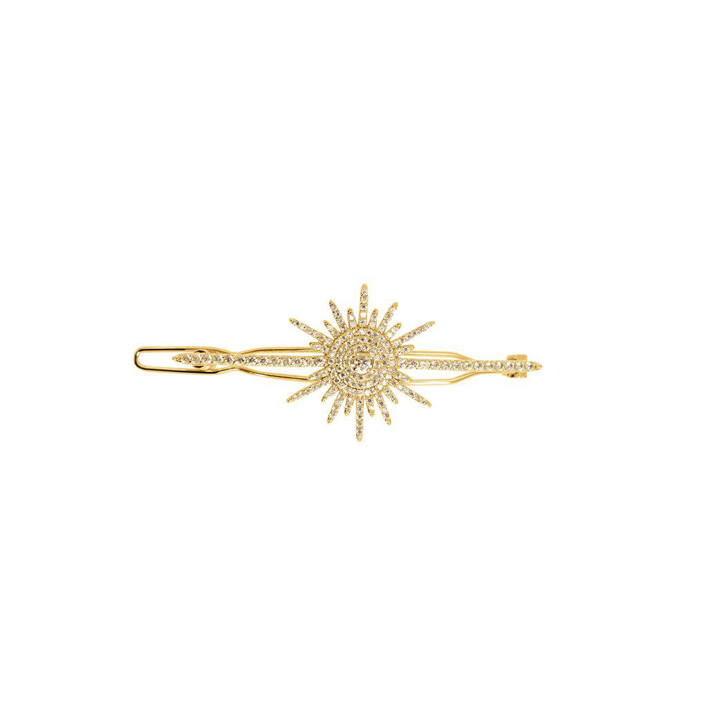 NABIRYE SUN CRYSTAL GOLD HAIR PIN
