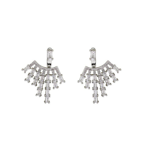 NAMAH CRYSTAL JACKET EARRINGS