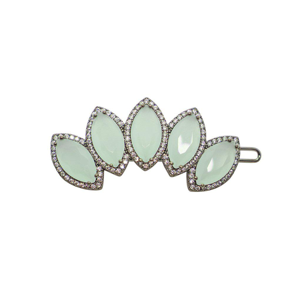 PRENE MINT FAN HAIRPIN