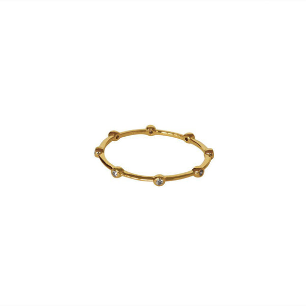 RORY CRYSTAL GOLD RING