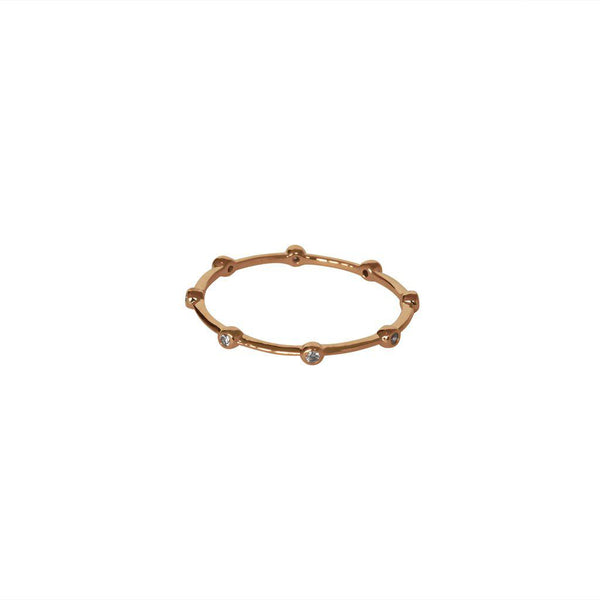 RORY CRYSTAL ROSE GOLD RING