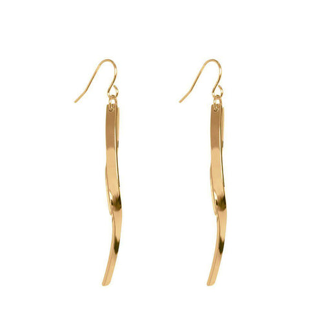 ROTEM 2MICRON ROSE GOLD PLATED EARRINGS