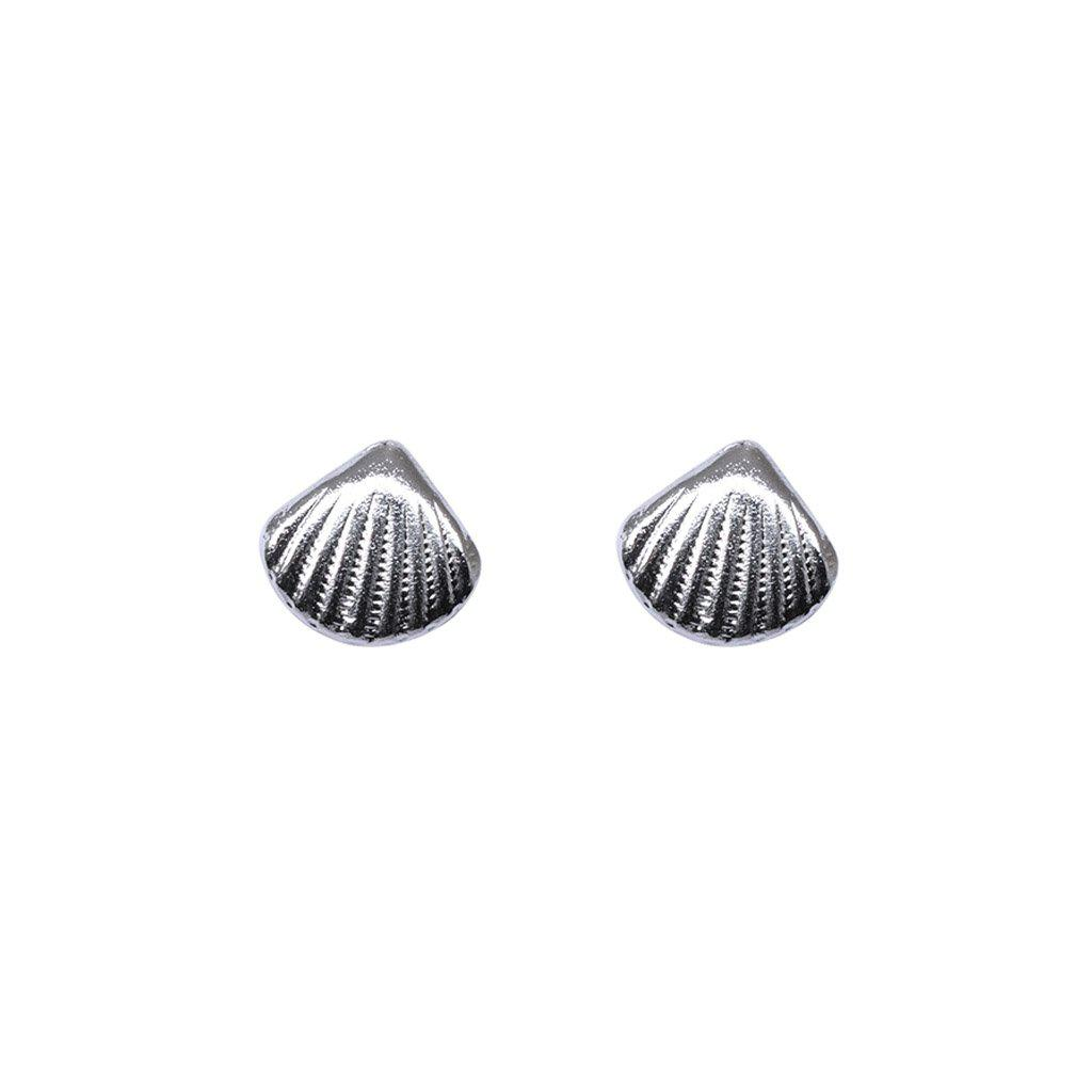 SHELL STERLING SILVER STUDS