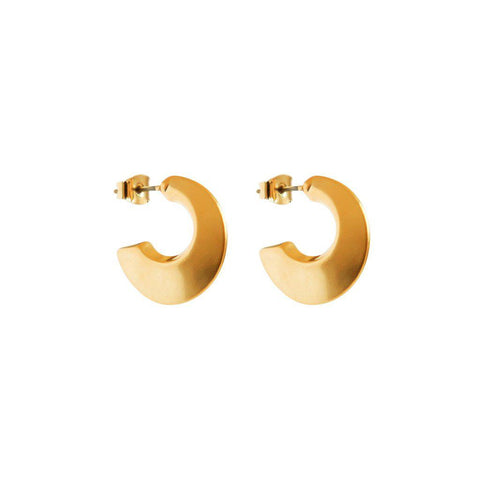 SILVIA GOLD EARRINGS
