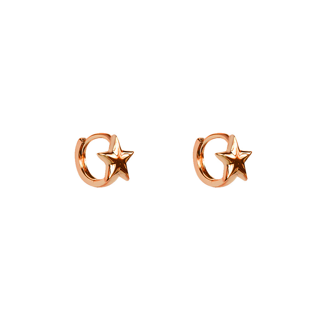 STAR ROSE GOLD HUGGIES