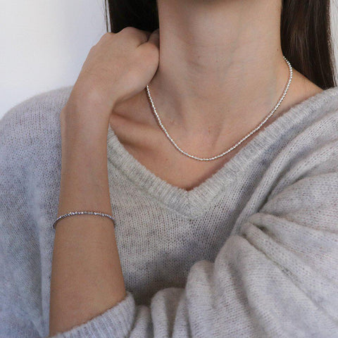 SOHA STERLING SILVER NECKLACE