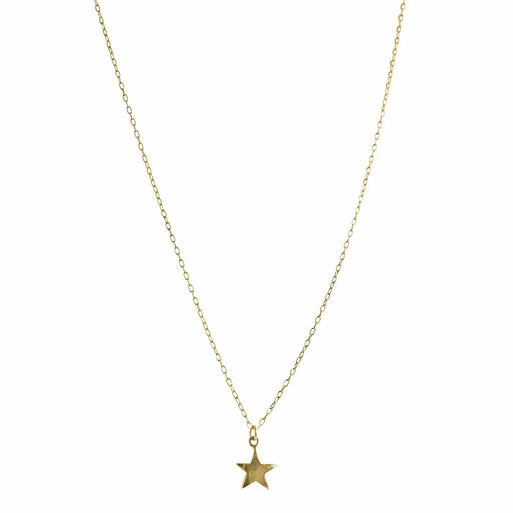 STAR GOLD FILLED PENDANT